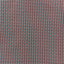 Coated cotton fabric Bruyère - terre x 10cm
