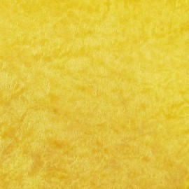 Velours frappé au mètre jaune