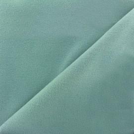 Tissu drap manteau gris bleu x 10cm