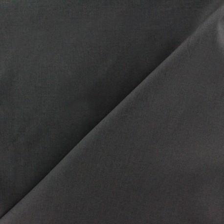 Tissu popeline gris anthracite x10cm ma petite mercerie - Tissu gris anthracite ...