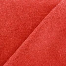 Laine bouillie rouge - orange x 10cm