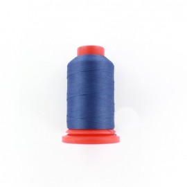 Cone of Serging-overlock foam thread 1000 m n°100 - yale blue