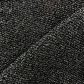 Tissu Lainage tricot orange x 10cm