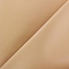 Imitation leather Karia - sand x 10cm