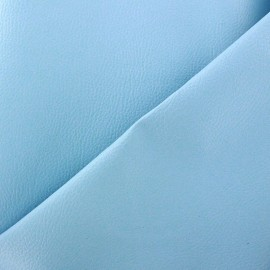 Imitation leather Karia - sky blue x 10cm