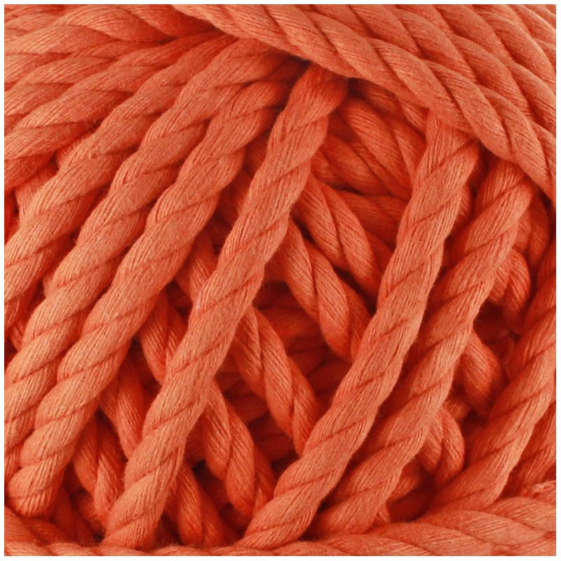 cordon coton macram orange ma petite mercerie. Black Bedroom Furniture Sets. Home Design Ideas
