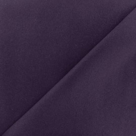 Tissu drap de laine violet  x 10cm