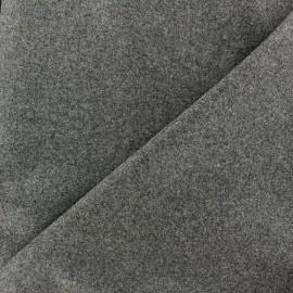 Wool broadcloth fabric - grey x 10cm