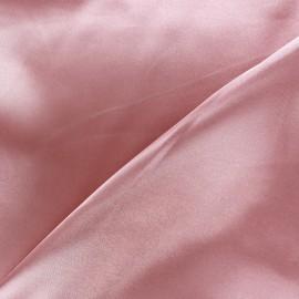 Tissu doublure rose camay x 10cm
