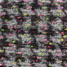 Tissu Maille tricot Clara rose x 10cm