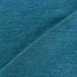 Tissu Maille légère lurex Glitter bleu céleste x 10cm