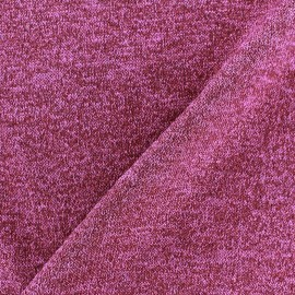 Light Stitch lurex fabric Glitter - violine x 10cm