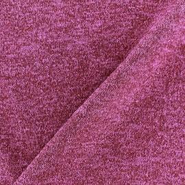 Tissu Maille légère lurex Glitter violine x 10cm
