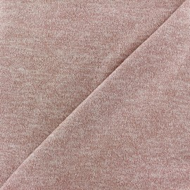 Light Stitch lurex fabric Glitter - powded pink x 10cm