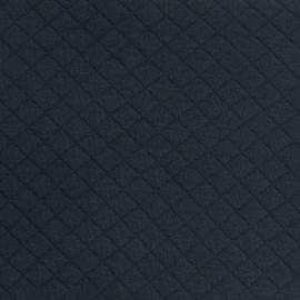 Tissu jersey matelassé France duval marine x 10cm
