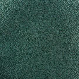 Tissu jacquard texturé vert x 10cm