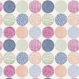 Tissu Coton AGF Sketchbook - Texture Slots Intense x 10cm
