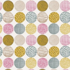 Tissu Coton AGF Sketchbook - Texture Slots Soft x 10cm