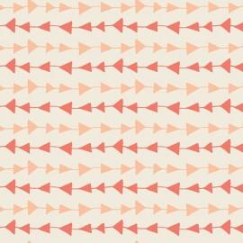Tissu Coton AGF Hello, Bear - Follow me Peach x 10cm