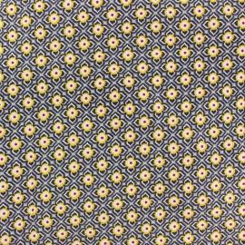 Tissu velours milleraies Iris gris x 10cm