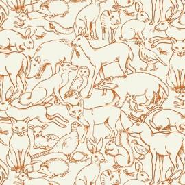Tissu Coton Makower UK - Sherwood C x 15cm