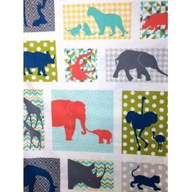 Tissu Coton Makower UK - Baby Chic - Pannel x 60cm