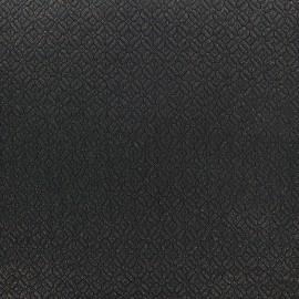 Tissu jacquard matelassé Shine paillettes dorées x 10cm