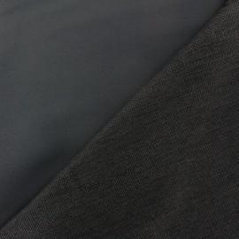 Tissu Occultant envers tissé noir x 10cm