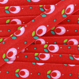 Jersey bias Tulip - red x 1m