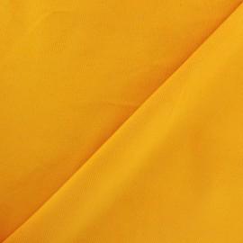 Tissu velours milleraies 200gr/ml jaune safran x10cm