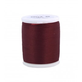 Polyamid laser thread bobbin ONYX 40  200 m - dark red