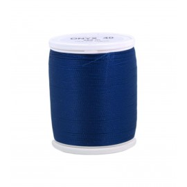 Polyamid laser thread bobbin ONYX 40  200 m - blue