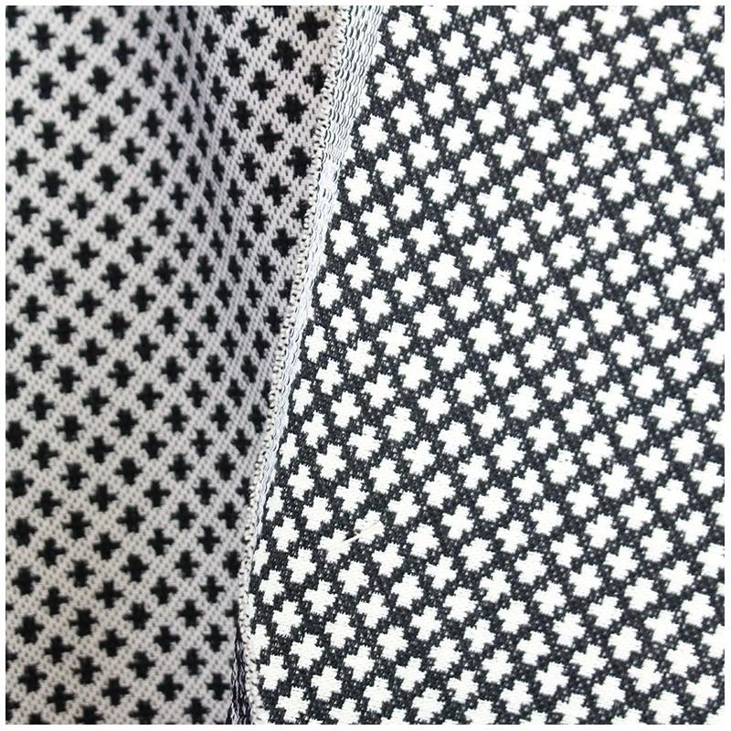 Tissu austin noir et blanc x 10cm ma petite mercerie - Tissus noir et blanc ...
