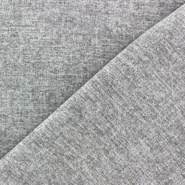 Tissu flanelle Verona gris clair x 10cm