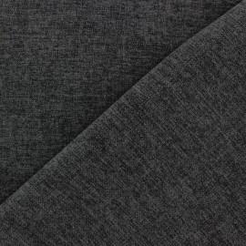 Tissu flanelle Verona gris anthracite x 10cm