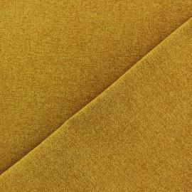 Tissu flanelle Verona ocre x 10cm