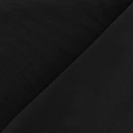 Tissu Burling - noir x 10cm