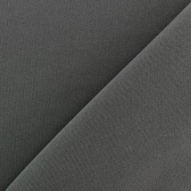 Tissu Burling - anthracite x 10cm
