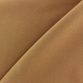 Tissu Burling - caramel x 10cm