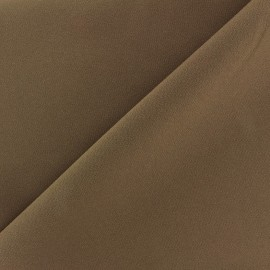 Tissu Burling - brun x 10cm