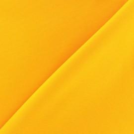 Tissu Burling - jaune x 10cm