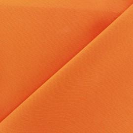 Tissu Burling - orange x 10cm