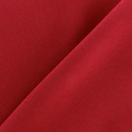 Tissu Burling - rouge x 10cm