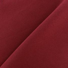 Tissu Burling - bordeaux x 10cm