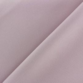 Tissu Burling - rose gris x 10cm