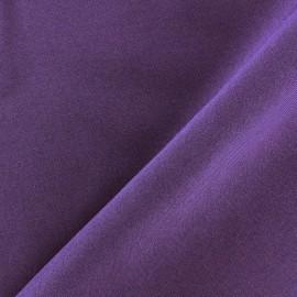 Tissu Burling - violet x 10cm