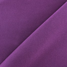 Burling Fabric - eggplant x 10cm