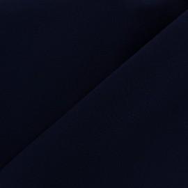 Tissu Burling - bleu nuit x 10cm