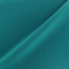 Tissu Burling - turquoise x 10cm