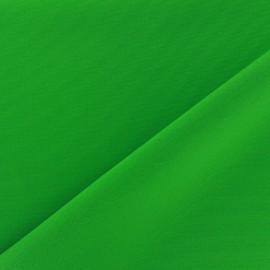Tissu Burling - vert prairie x 10cm